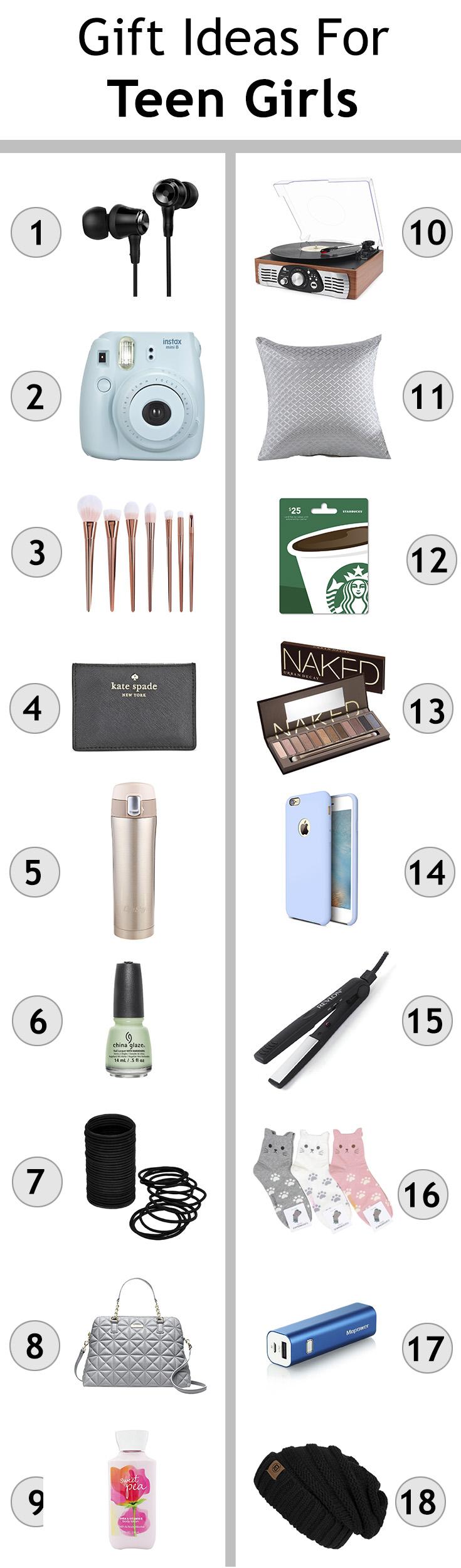 Gift Ideas For Teen Girls Christmas Shopping For Teengers