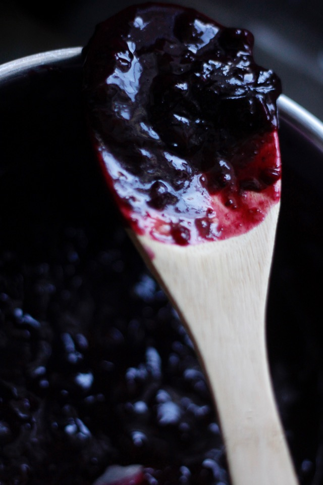 Blueberry Compote Healthy Recipe