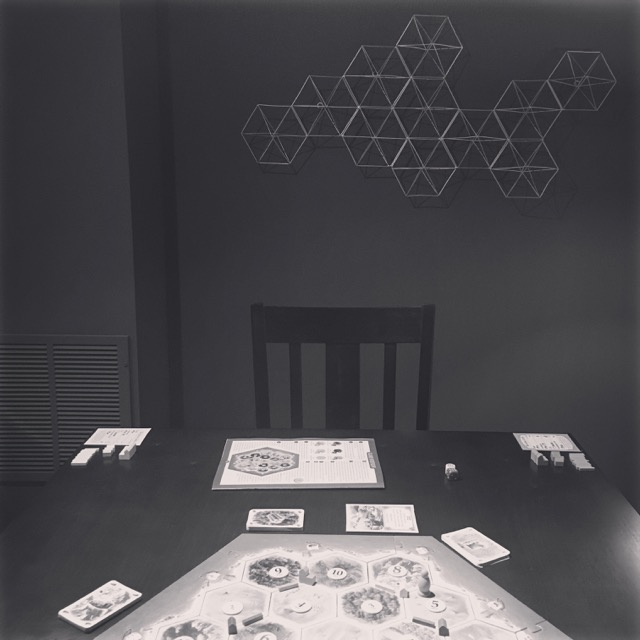 Family Room Game Playing