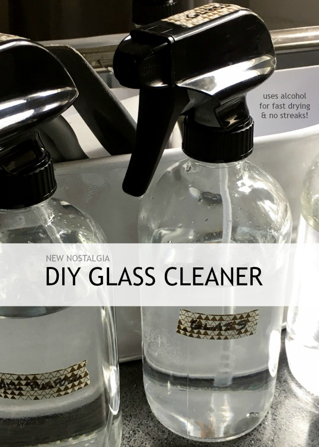 The BEST DIY Glass Cleaner