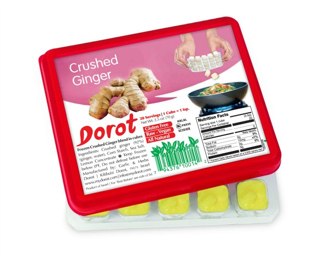 Crushed Ginger Dorots, perfect for Ginger Tea!