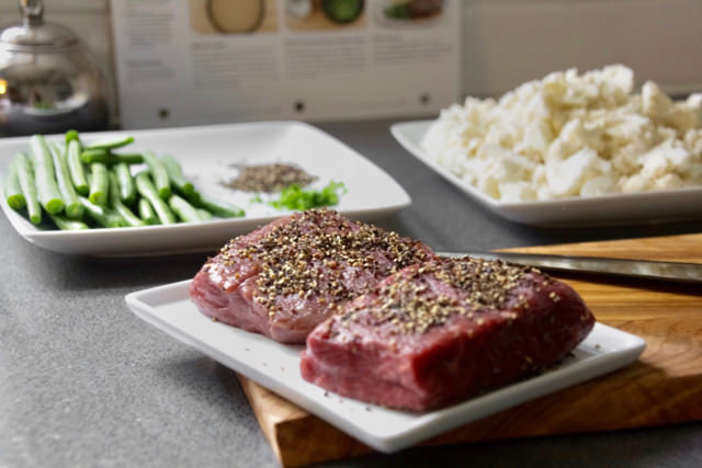 Steak au Poivre Ingredients
