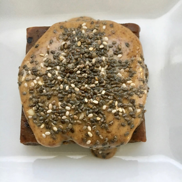 RX Protein Bars with Nut Butter and Chia for Breakfast or Snack