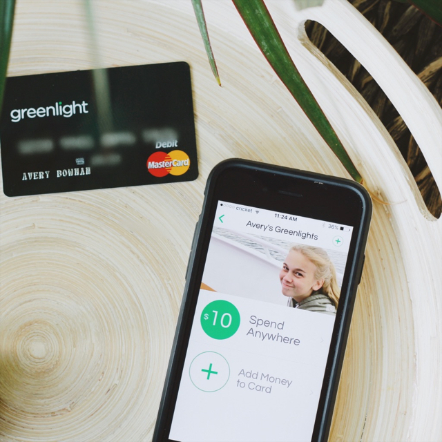 Greenlight, the smart debit card for kids