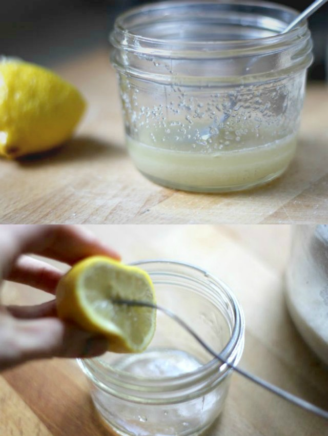 DIY Lemon Sugar Facial Scrub