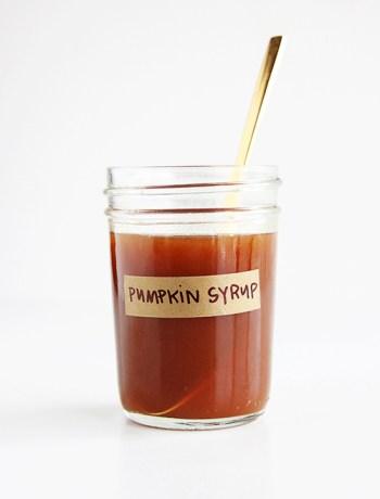 Pumpkin Maple Latte Syrup