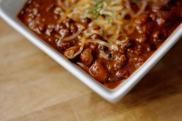 Instant Pot Cincinnati Chili with Dark Chocolate