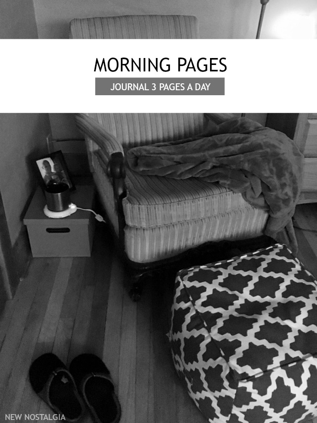 Morning Pages - Journal 3 pages a day, in the morning