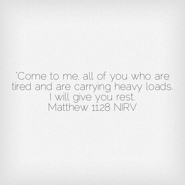 Matthew 11:29 Scripture Verse about rest.