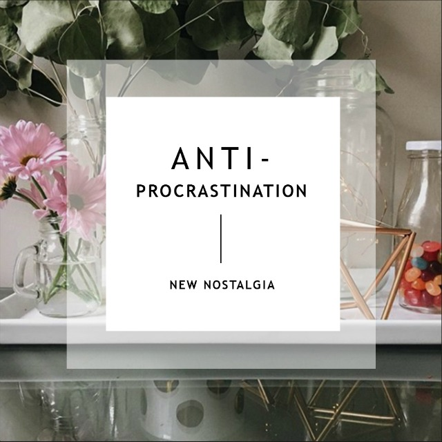 Weekly goal setting and anti-procrastination tips