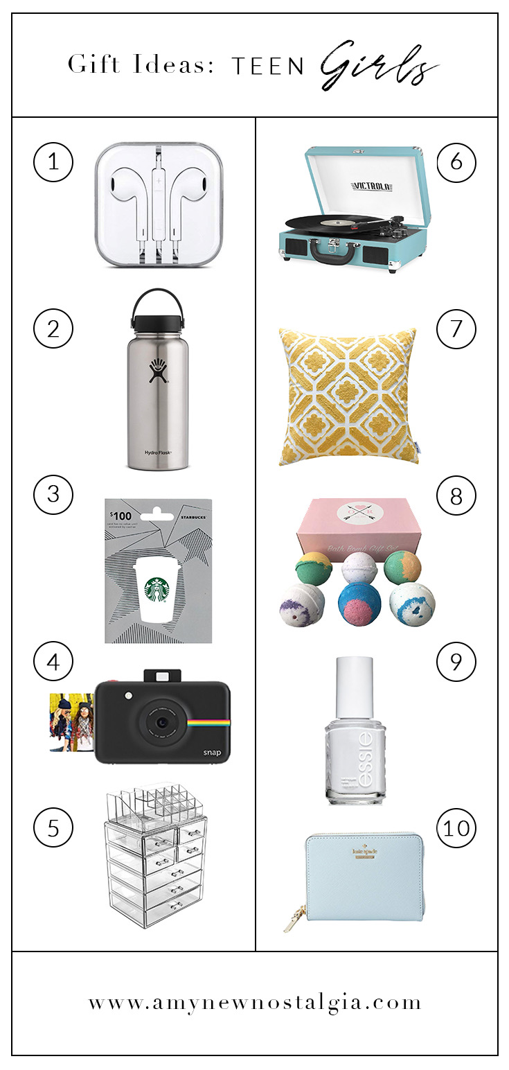 Gift Ideas For Teen Girls From My Teen Girl S Wish List