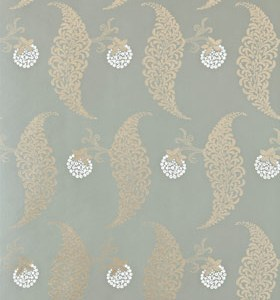 Farrow & Ball Rosslyn Wallpaper - Blues & Greens