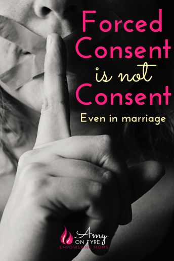 sexual consent in marriage coerced