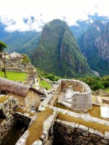 Temple of the Sun in Machu Picchu as seen during our Peru Meditation Retreat