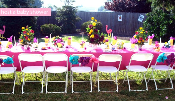 host a baby shower- amy+mayd