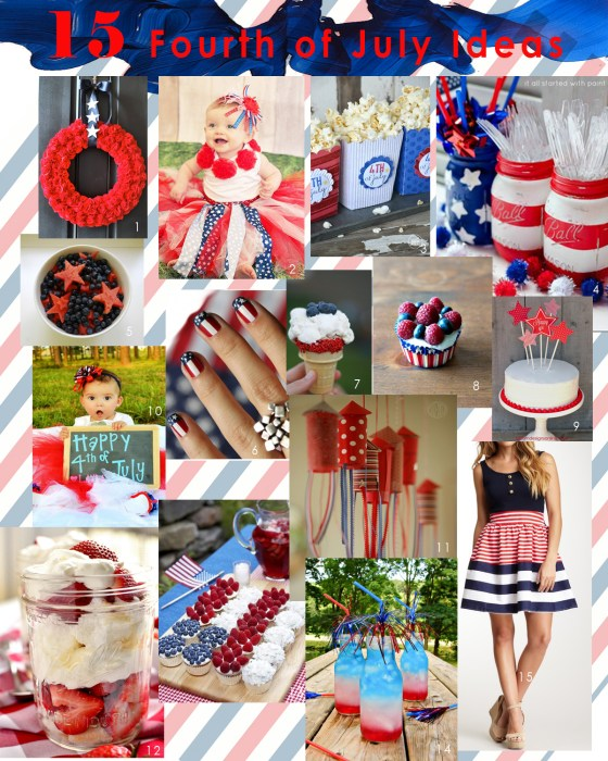 15 Fourth of July Ideas