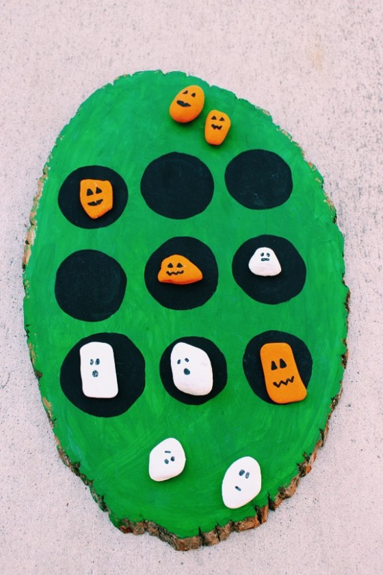 Halloween crafts for kids, Tic Tac Toe