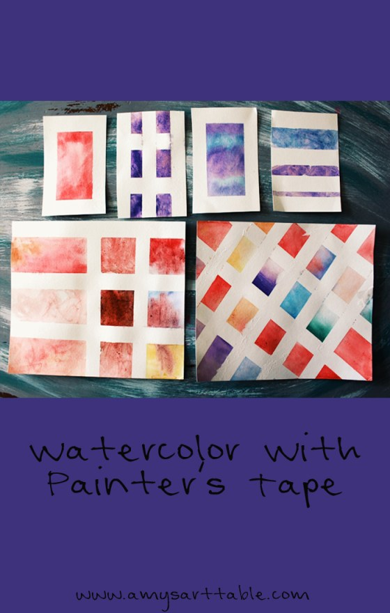 Watercolor tutorial for kids, click through to read the full article and see more free art lessons