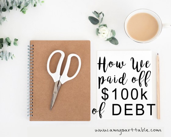 If you want to really get out of debt like we did once and for all you need to read our story and learn our secret. Plus, I'm going to give you a list of 10 things you need to stop spending money on immediately!!