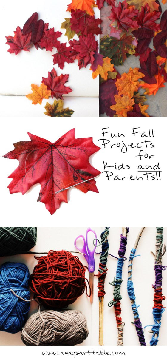 Click through to see some of my favorite Fall crafts for kids that you can enjoy with your child. Beautiful projects for decor, fun and learning at home