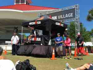 Speaking at Ironman 70.3 Florida 2016