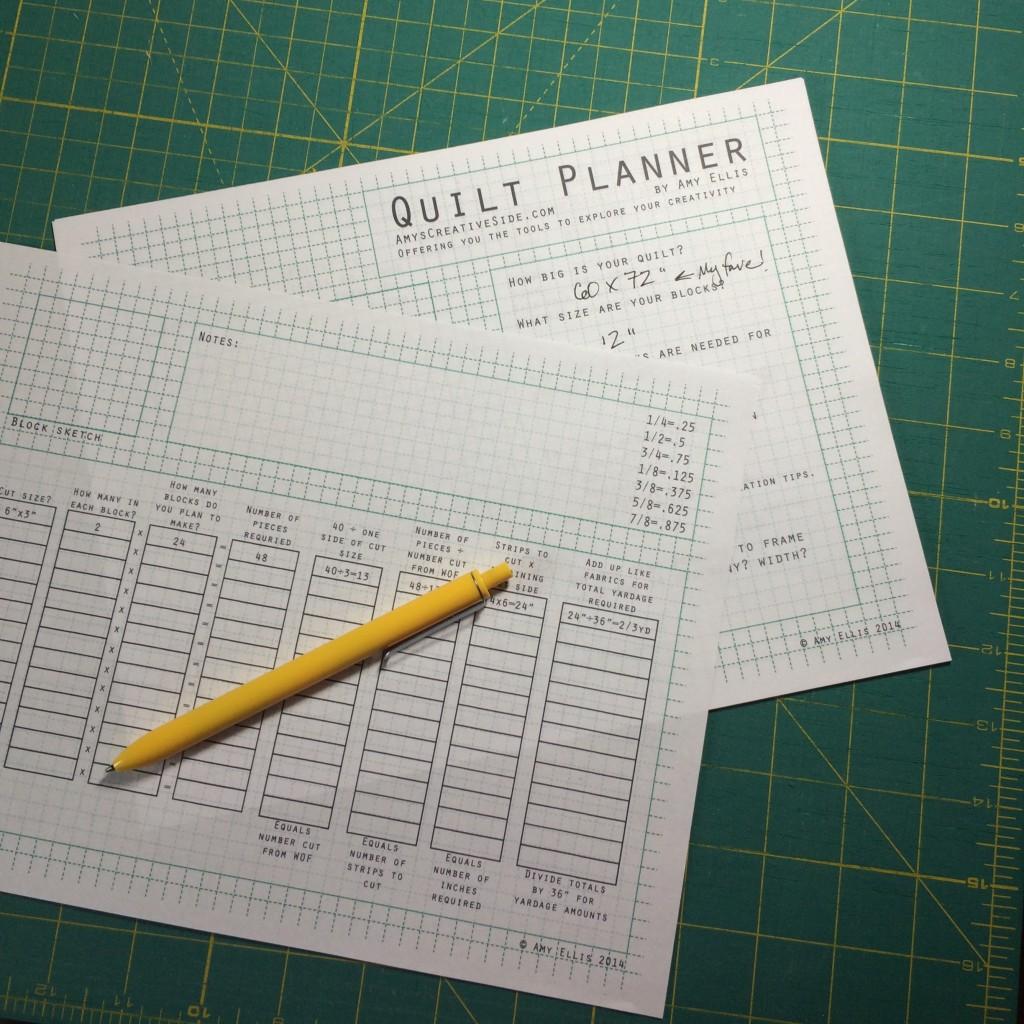 Quilt Planner