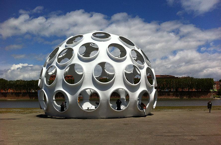 Buckminster Fuller dome, Toulouse