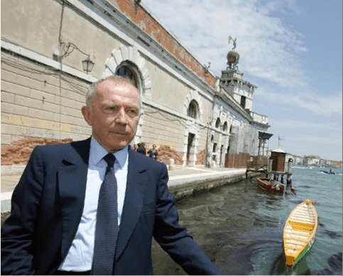 Billionaire art collector François Pinault in Venice