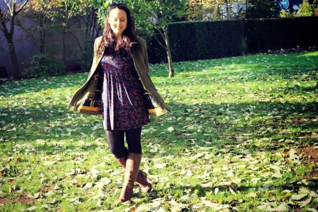 Tweed winter coat