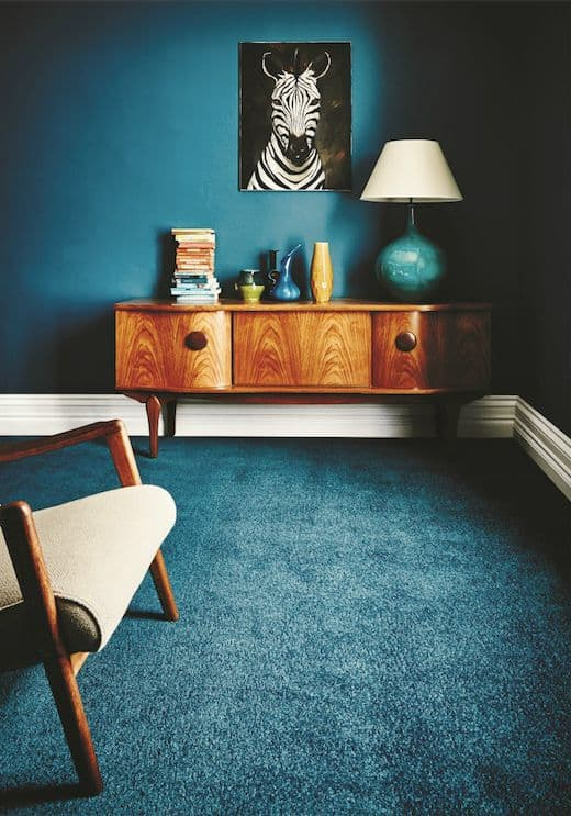 Jewel tone inspired 70s decor