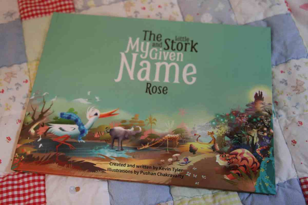 child's book 'My Given Name'
