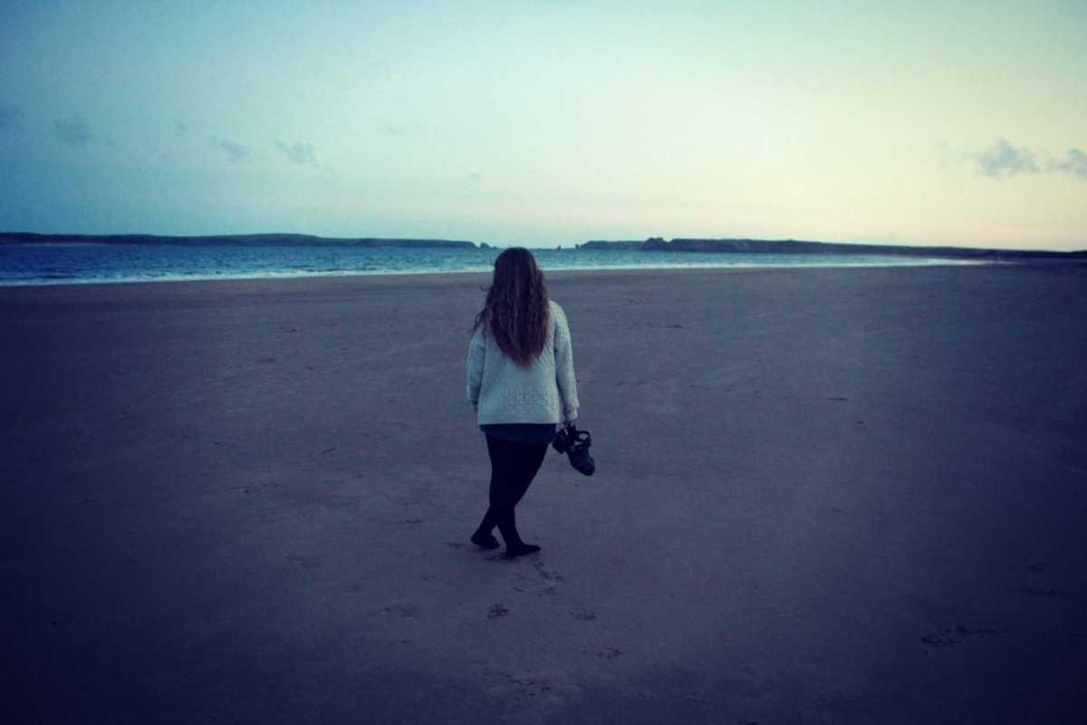 Beach at Tenby