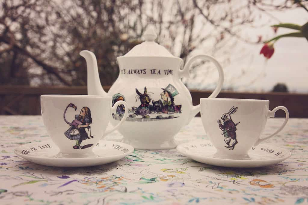 Mrs Moore's Alice in Wonderland collection