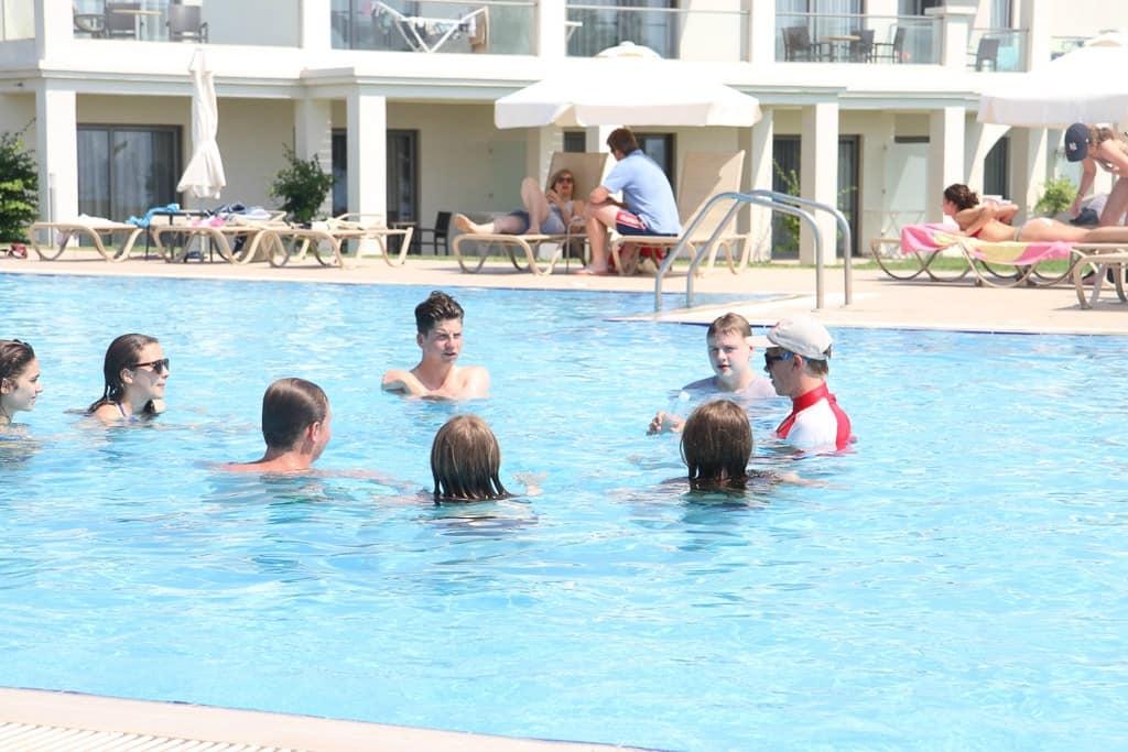 Swimming pool Mark Warner holiday