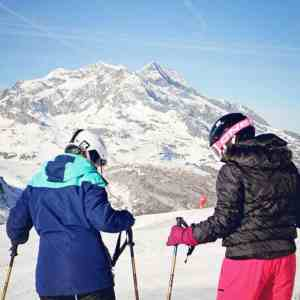 Ski lessons with Evolution 2 ski school Val d'Isere