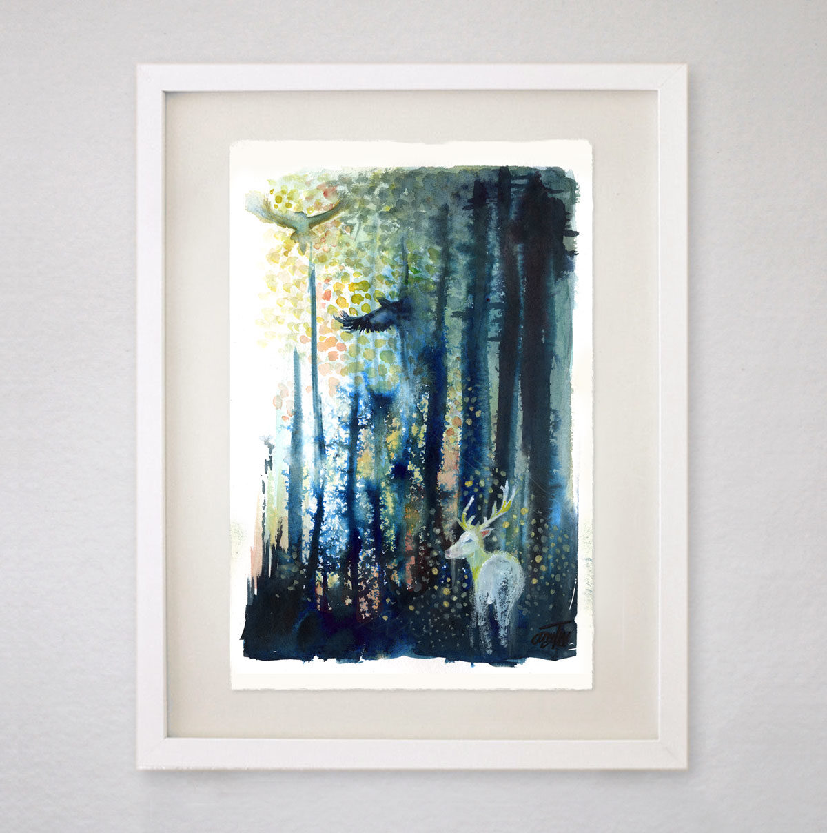 A Forest Between Worlds Original Ink Amp Watercolor
