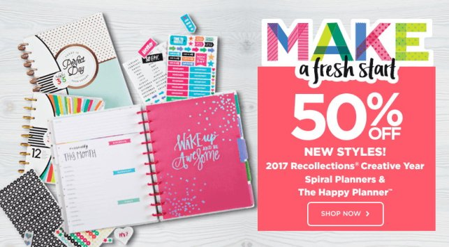 2017 Planners