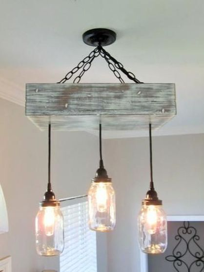 Breathtaking Rustic Ceiling Light Design 22