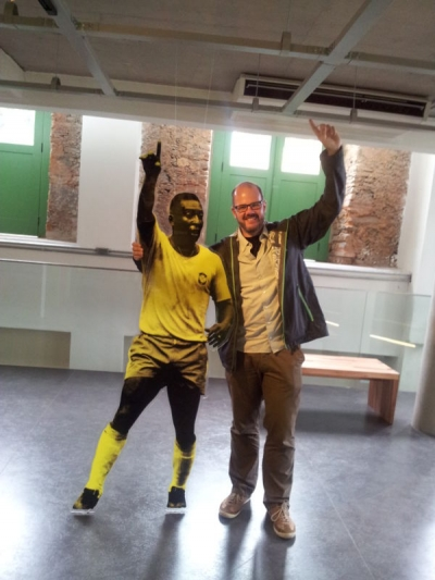 A visit to the king – Museum Pelé