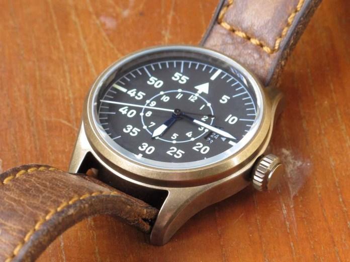 Geckota Pilot Watch K1 V14 : มาตรฐานของกองทัพของนักบินจากอังกฤษ