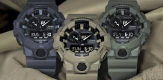 3 สีใหม่จาก Casio G-Shock GA700