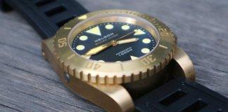 Helson Shark Diver Brass 45