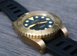 Helson Shark Diver Brass 45