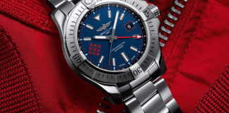 Breitling Avenger GMT45 Red Arrow Edition