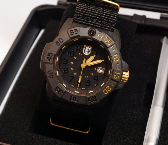 Luminox Navy SEAL XS.3501 Gold Set