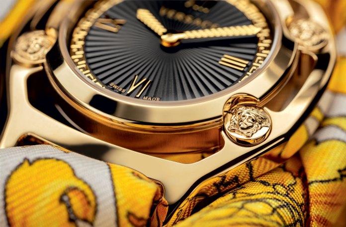 Versace Watches Medusa Frame VEVF00620 Foulard Detail