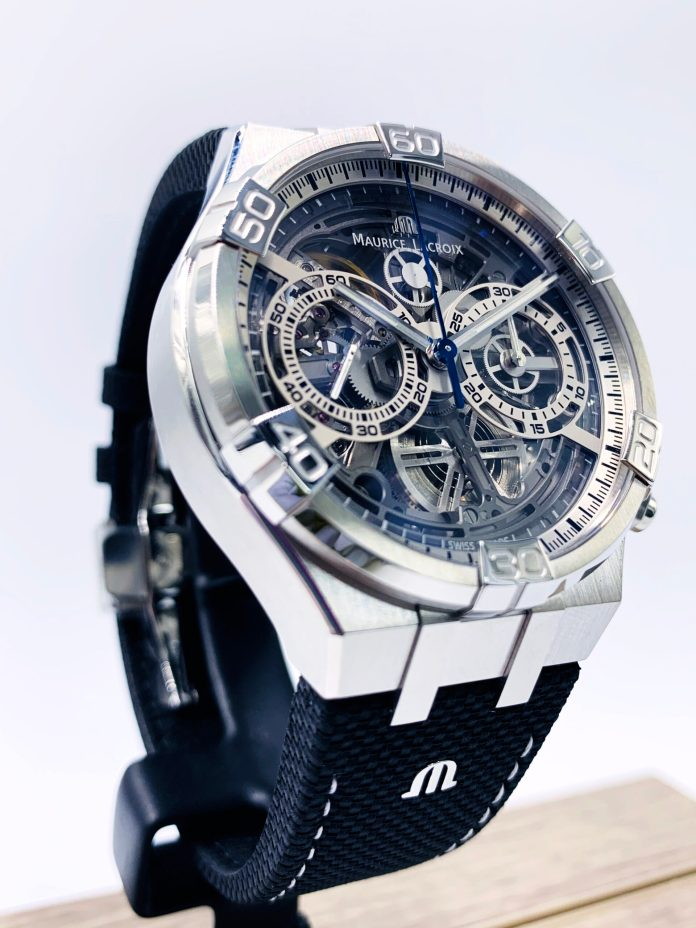 Maurice Lacroix AIKON Chronograph Skeleton re IMG 1507 scaled