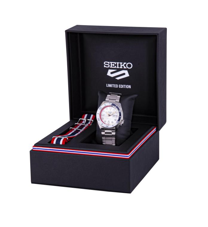 Brifting Ted Seiko 5 Sports Thailand Limited Edition