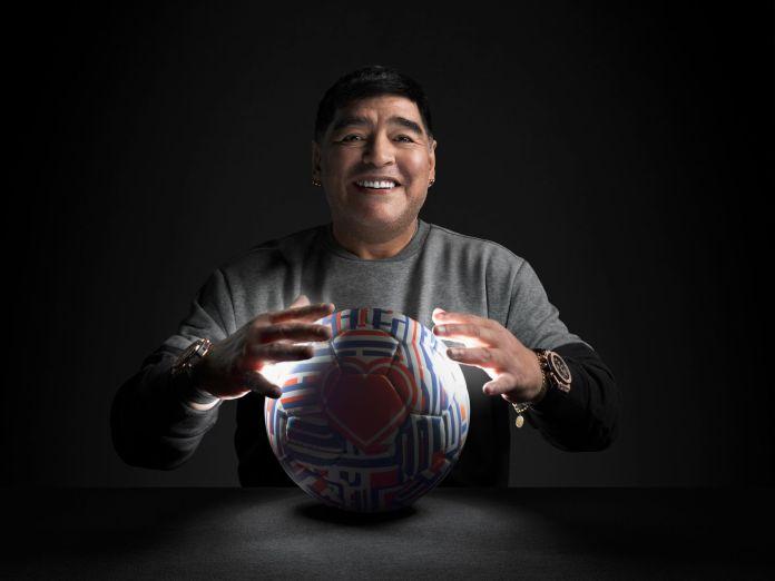 Hublot Ambassador Diego Maradona