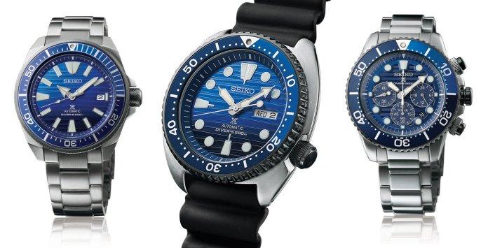 Seiko Save the ocean Gen 1 Collection